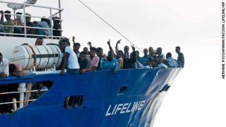 Stranded ship with more than 230 migrants finally docks in Malta