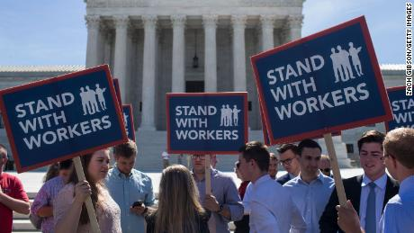 The Supreme Court may have just signaled the end of the union era in politics