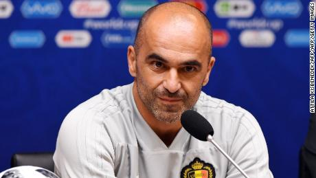 "Belgium's coach Roberto Martinez has said beating England ""isn't a priority."""