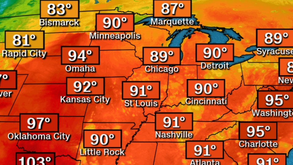 HD Decor Images » Heat wave sweeping East Coast turns deadly   CNN Video