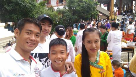 Thai town rallies behind Ake, coach who took boys into cave