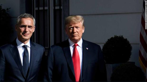 NATO summit: Trump accuses Germany of being a 'captive of Russia'