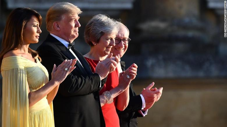 What President Trump said about May, Brexit and 'England'