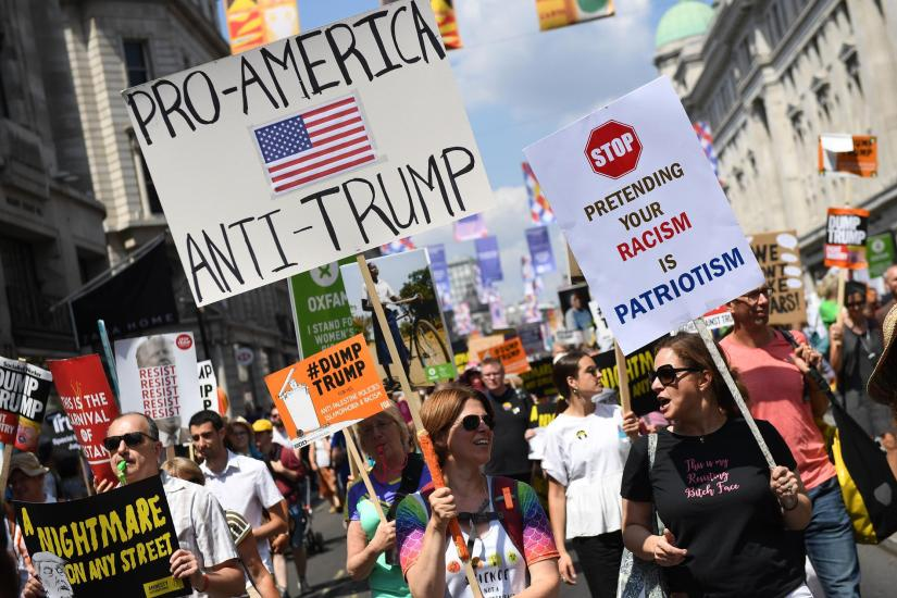Image result for international anti trump protests