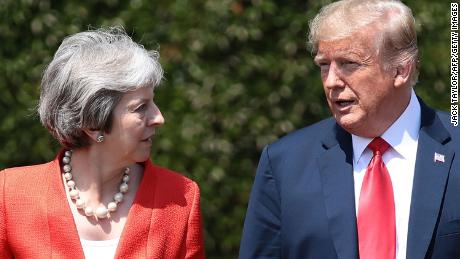 Trump wades back into Brexit fight, says May 'didn't listen' to his advice