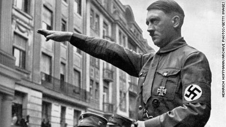 Adolf Hitler in Munich in the spring of 1932.