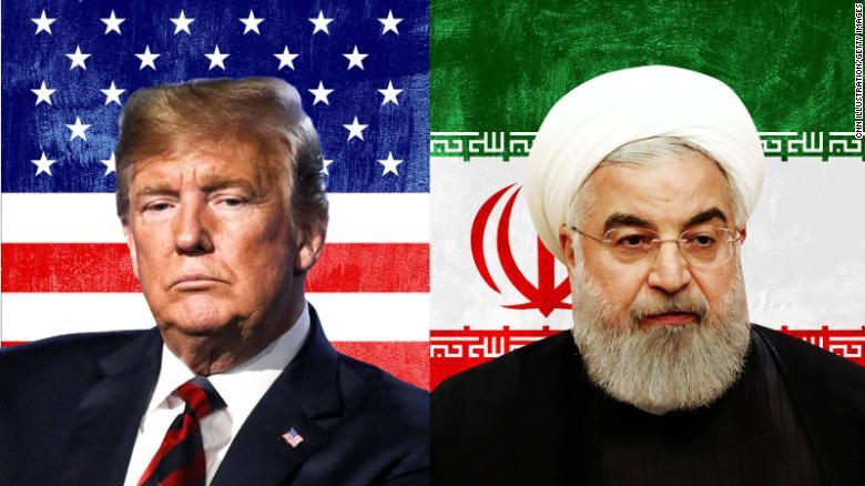 Risultati immagini per trump and iran