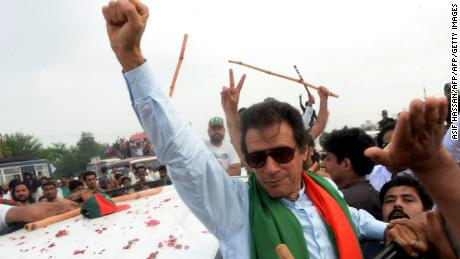 Playboy cricketer to politician, Imran Khan says he's Pakistan's best hope