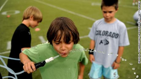 Young athletes should stay hydrated, but too much water can be deadly