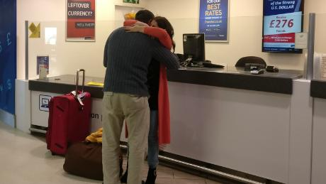 This man had not seen his daughter since she was 12, but thanks to Miles4Migrants they now live together in the United Kingdom.