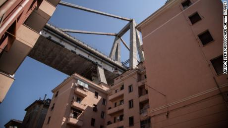 Some of the residential buildings beneath the remaining sections of the bridge will be demolished, according to a spokesman for Marco Bucci, mayor of Genoa.