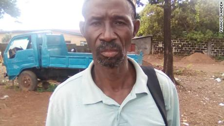 Mudslide survivor Pawa Koroma worries his family may soon be on the streets again.