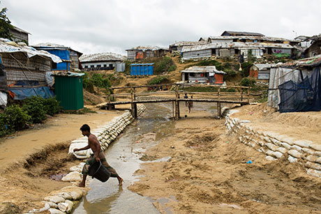 Cox's Bazar is believed to be home to the world's largest refugee settlement.