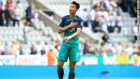 Son Heung-min joined Spurs from Bayer Leverkusen for £18M in 2015.