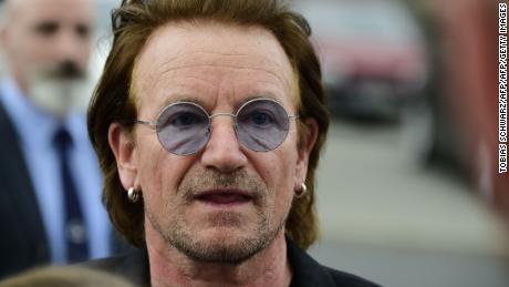 Bono à Berlin le 28 août.