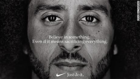 Why Nike puts his slogan on Colin Kaepernick