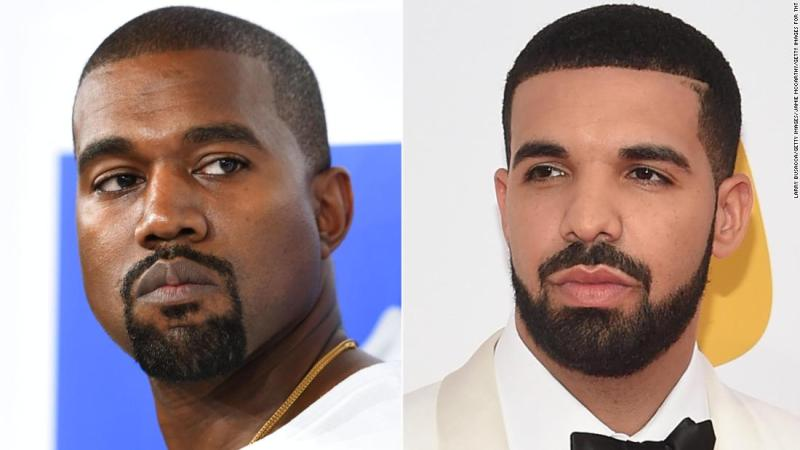 """Kanye West took to Twitter in September to apologize to fellow rapper Drake after West got caught up in <a href=""""https://www.cnn.com/2018/05/31/entertainment/drake-pusha-t-blackface/index.html"""" target=""""_blank"""">a beef Drake was having with Pusha- T. </a>"""