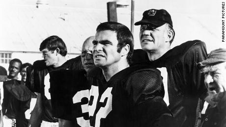 "Burt Reynolds in ""The Longest Yard."""