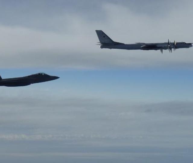 Us Fighter Jets Intercept Russian Warplanes Near Alaska