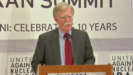 Bolton warns Iran that US 'will come after you'