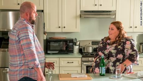 Chris Sullivan as Toby, Chrissy Metz as Kate
