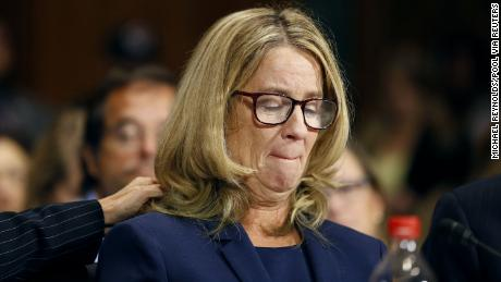 'I reported a powerful man, but can't imagine how Christine Ford feels'