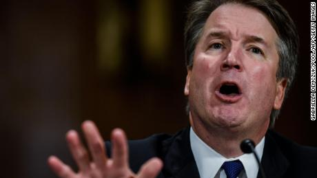 Kavanaugh gets combative with Democratic senator over questions about drinking