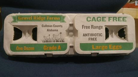 Eggs from Gravel Ridge Farms were recalled in September, but some consumers still could have them.