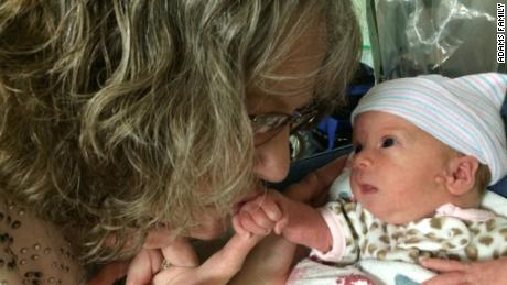 Her kidney donation now could save her granddaughter's life later