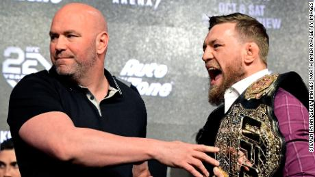 """According to White, he and McGregor communicate """"every day""""."""