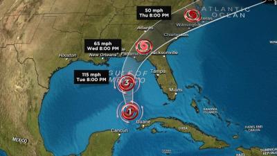 Hurricane Michael strengthens before landfall - CNN Video