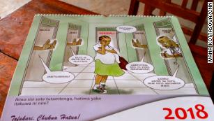 "School calendars warn against the consequences of pregnancy, and trading sex for rides with ""boda boda"" (motorcycle taxi) drivers."