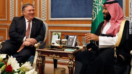 Trump sides with Saudis as clamor grows over Khashoggi disappearance