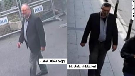 Surveillance images show Saudi Arabia