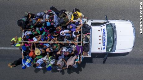 Legal fight looms as Trump admin considers caravan order that could violate federal law