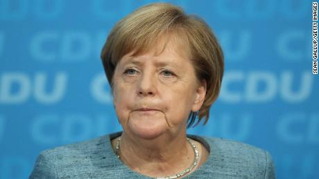 Angela Merkel says she will not seek re-election as German Chancellor