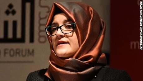 Khashoggi fiancée: Trump should not be the path for a cover-up & # 39;