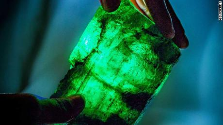 1.1 kg and 5,655 carats: An emerald like no other has been unearthed in Zambia