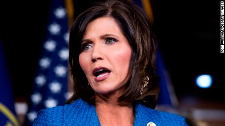 This Republican governor is playing politics while Covid-19 burns through her state