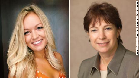 Maura Binkley and Nancy Van Vessem.
