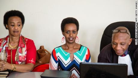 Diane Rwigara, and her mother, Adeline, are seen in Kigali's high court last month.