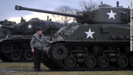 The memories of tank warfare were so bad for Smoyer that he would turn off the television when war movies came on.