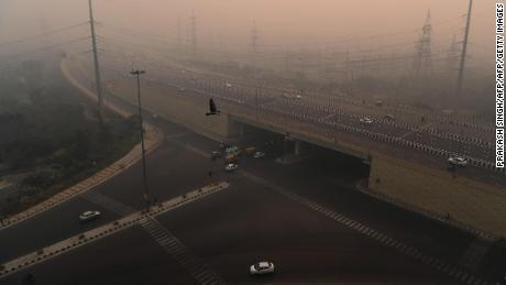 Delhi residents woke up to find the city under a thick layer of toxic pollution Thursday morning.