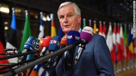 """EU Chief Brexit negotiator Michel Barnier said """"we had no doubt that Brexit was a lose-lose situation."""""""
