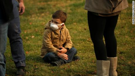 The health hazards from wildfires can linger