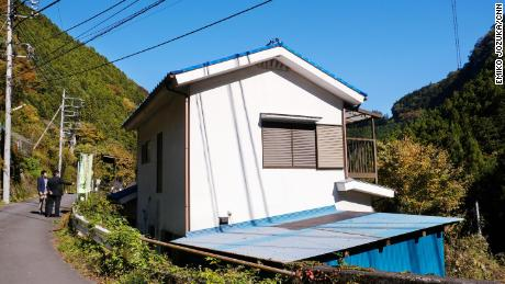 Vacant houses are a common sight across Japan as the country's population shrinks and many young people move to urban areas.