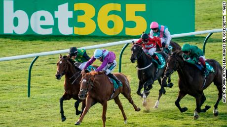 Bet365 heavily advertises during football matches and high-profile sporting events.