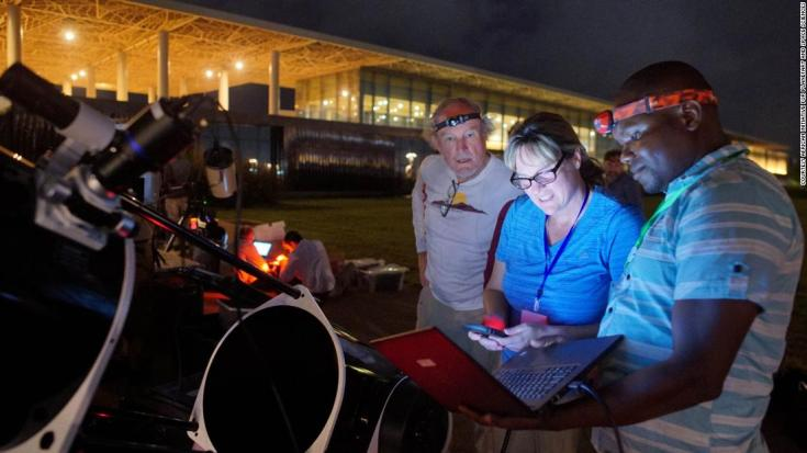 Across the continent new programs represent a growing appetite for space technology. The Africa Initiative for Planetary and Space Sciences involved in the NASA observation is aiming to elevate planetary and space science throughout the entire African continent.