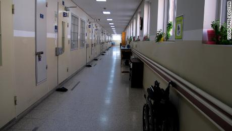Parts of Nambu Correctional Institute can resemble a hospital wing more than a prison.