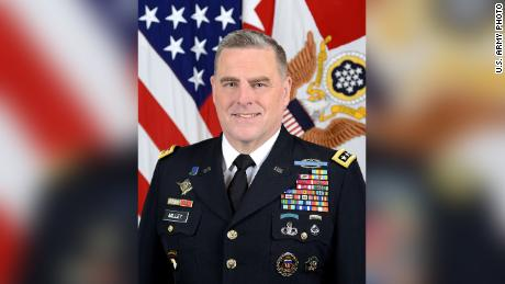 Gen. Mark A. Milley, Chief of Staff of the Army, poses for a command portrait in the Army portrait studio at the Pentagon in Washington, D.C., August 12, 2015.  (U.S. Army photo by Monica King/Released)
